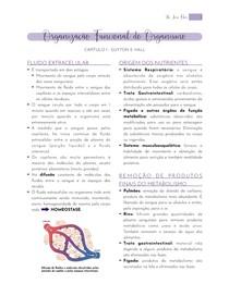 1. Organização Funcional do Organismo - Guyton Capítulo 1 - Resumo