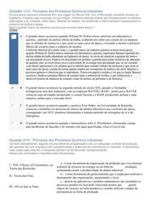 APOL OBJETIVA 1 - PRINCÍPIOS DOS PROCESSOS QUÍMICOS INDUSTRIAIS - UNINTER