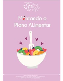 Montando Plano Alimentar - Ana Paula Pujol