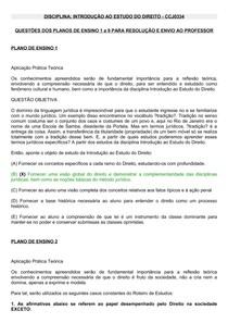 IED - Questões dos Planos de Aula 1 a 9 para resolução (1)