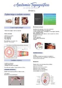 Esplancnologia e cavidades corporais