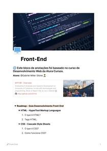 Guia Desenvolvimento Web
