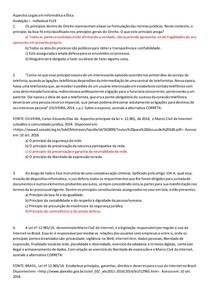 avaliação 1 Aspectos Legais em Informática e Ética