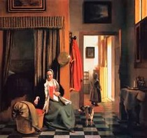 Pieter de Hooch - Mother