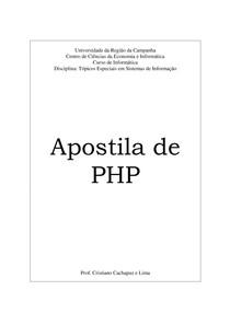 Apostila PHP