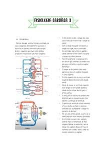 Fisiologia cardíaca 3 - hemodinâmica