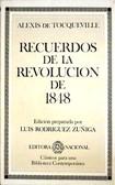 Tocqueville Alexis   Recuerdos de La Revolucion de 1848