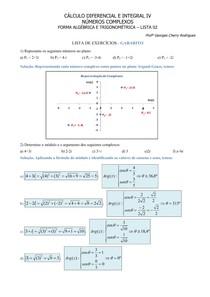 Numeros Complexos Forma Algebrica e Trigonometrica-Gabarito-Lista_02