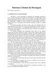 Introdução a Drenagem Urbana (Sistemas Urbanos de Drenagem)
