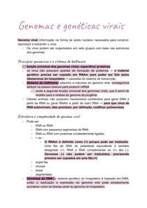 Virologia_ Genomas e genéticas virais