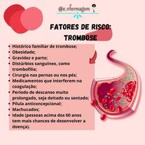 Trombose: fatores de risco