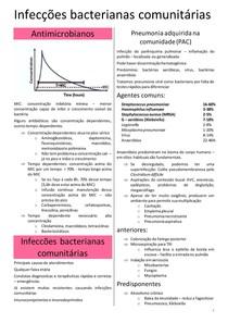 INFECÇÕES BACTERIANAS COMUNITÁRIAS