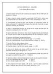 EXERCÍCIOS- SOLUÇÕES - UFES