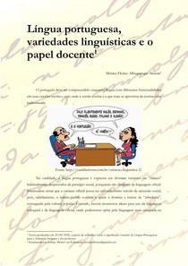 Língua Portuguesa, variedades linguísticas e o papel docente