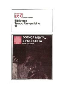Livro - Doença Mental e Psicologia - Michel Foucault