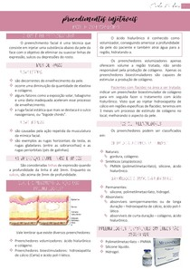 Procedimentos injetáveis (tipos de preenchedores) - Estética