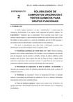 EXPERIMENTO2SOLUBILIDADEDECOMPOSTOSORGANICOSETESTESPARAGRUPOSFUNCIONAIS