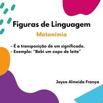 Figuras de Linguagem - Metonímia