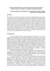 GARCIA E BRONZO_BasesEpistemológicas
