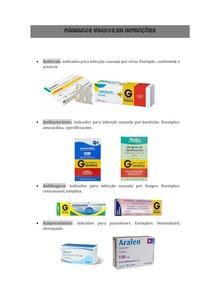 Fármacos usados em infecções