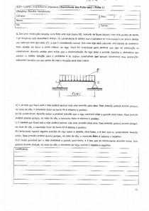Alguém tem as respostas das questões de DP da Ed Resmat 3 Semestre Arquitetura