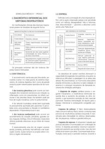 RESUMO DE SEMIOLOGIA MÉDICA - PROVA 1 (4º SEMESTRE - MEDICINA UFMS)