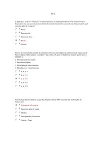 AS 5 Ciências Econômicas e Administrativas EAD UNICSUL