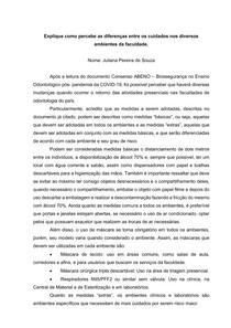 Analise do Consenso ABENO