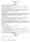 Psicologia nas Organizações - AULA 01