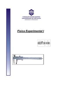 Apostila de Fisica Experimental I