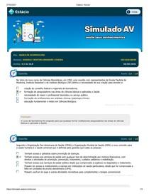 SIMULADO BASES DA BIOMEDICINA