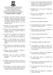 Exercício de Revisão - Sociologia Geral