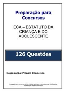 2.APOSTILA ECA   126 QUESTÕES