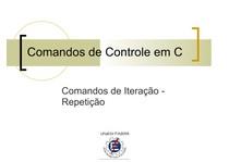 06. ESTRUTURA DE REPETIÇÃO