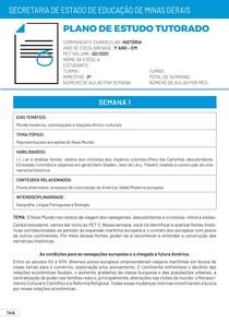 Correção PET 2 História 2021 1º Ano Ensino Médio PDF