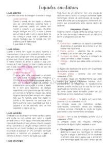 Interpretação de líquidos cavitários - Patologia clínica