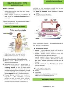 Bioquímica Fisiológica: Trato Gastrointestinal