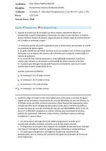 avaliação individual II
