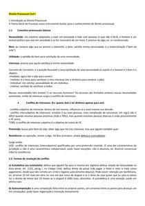 Direito Processual Civil I - Part I