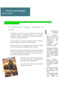 Primeira Guerra Mundial _ causas do conflito