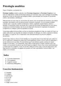 Psicologia analítica – Wikipédia  a enciclopédia livre