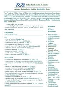 DJi - Multa (s) - Pena Pecuniária - Pena de Multa