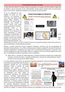 Farmacologia da gestação e lactação docx