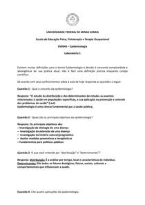 Atividade II Epidemiologia