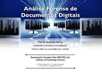 Analise Forense de Documentos