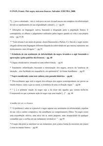 Frantz Fanon - Pele negra, máscaras brancas