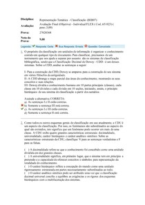 Representação Temática - Classificação (BIB07)