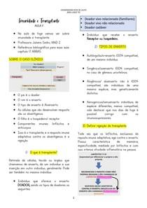 Imunidade e Transplante