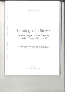 01. DIAS. Reinaldo. Sociologia Jurídica