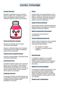 Conceitos Farmacologia